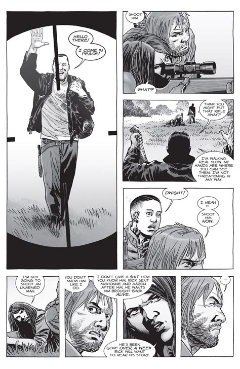 Negan Earns Rick Grimes' Trust (The Walking Dead