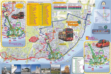 Lisbon Attractions Map PDF - FREE Printable Tourist Map