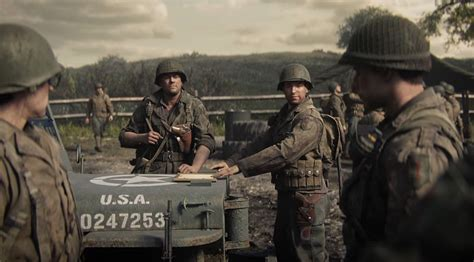 Call of Duty: WW2 squad videos focus on playable and non