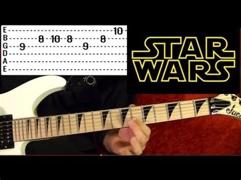 STAR WARS: The Force Theme - Guitar Lesson 🎵 - YouTube