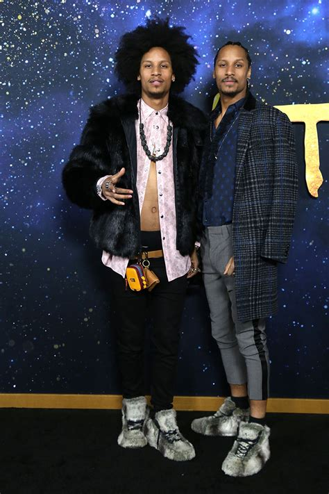 Laurent Bourgeois, Larry Bourgeois, Les Twins at Universal