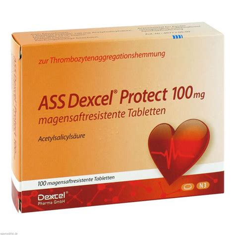 ASS Dexcel Protect 100 mg magensaftres