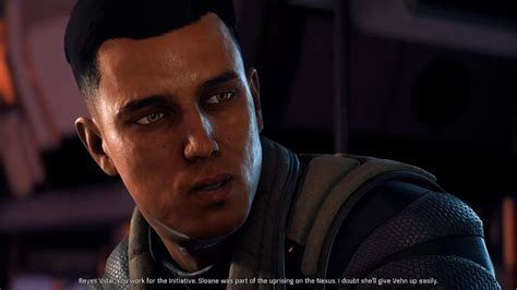 Mass Effect Andromeda Reyes Vidal romance with male Ryder