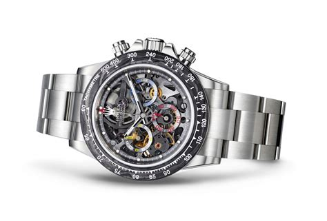 The World's First Skeleton-Dial Rolex Daytona Was Made for