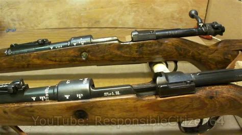 Mauser K98 Differences: 42 vs BYF - YouTube