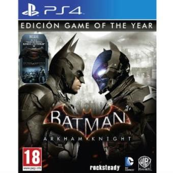 Batman: Arkham Knight - Game Of The Year Edition PS4 para
