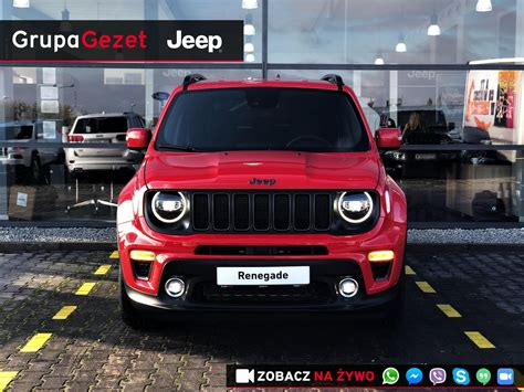 """Jeep Renegade """"S"""" GSE T4 TURBO 150KM DDCT Colorado Red"""