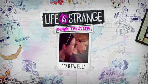 It's Time to Say Goodbye in New Life is Strange: Before