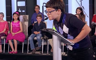 """STUDENT COMPETES IN """"CHILD GENIUS"""" TV SHOW 