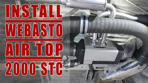 How to Install a Webasto Air Top 2000 STC on a VW