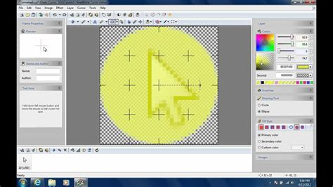 How to get a Yellow Circle Around Your Cursor - YouTube