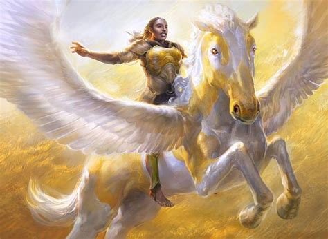"""""""Wingsteed Rider"""", illustrated by Cynthia Sheppard 