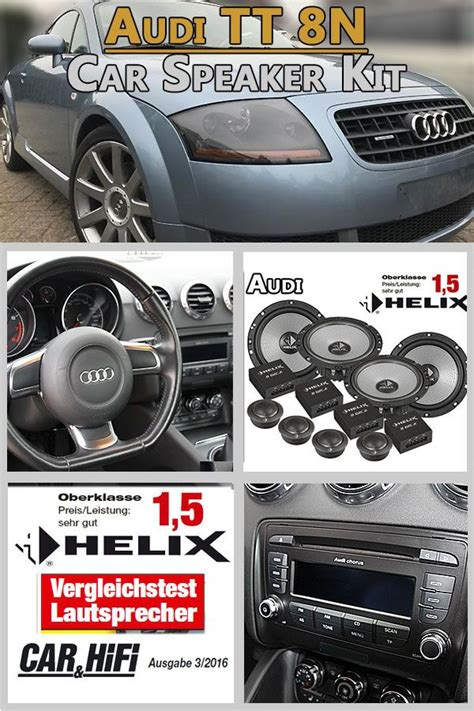 Audi TT 8N Speaker Component And Coaxial Kit Front And