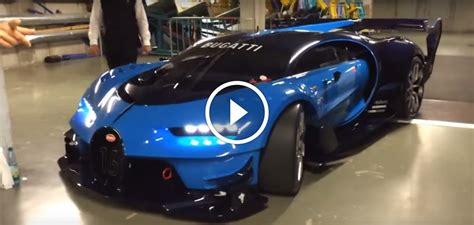 Real-Life Bugatti Vision GT Engine Sounds Monstrous