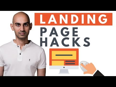 Authors Book Landing Page : Layout Design Essentials
