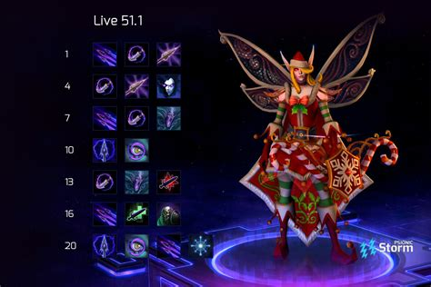 Sylvanas DMG Build | Build on Psionic Storm - Heroes of