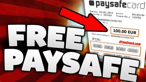 Check out the free paysafecard codes list on our website