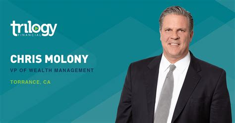 Chris Molony a Vice President of Wealth Management