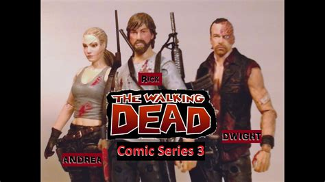 Fu-Reviews: McFarlane Toys The Walking Dead Comic Series 3