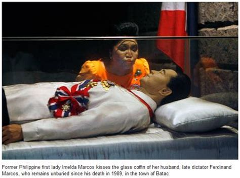 On the former Philippine President Marcos burial issue