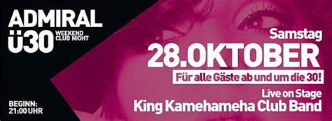 Party - Ü30 Club Night - Admiral Music Lounge in Giessen