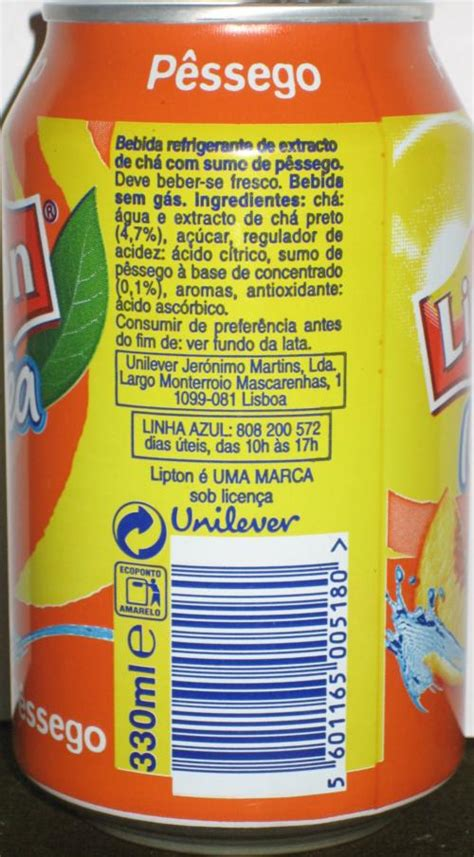 LIPTON-Ice tea -peach-330mL-Portugal