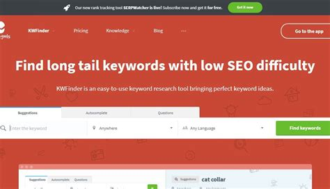 KWFinder Review - The Best Budget Keyword Research Tool in