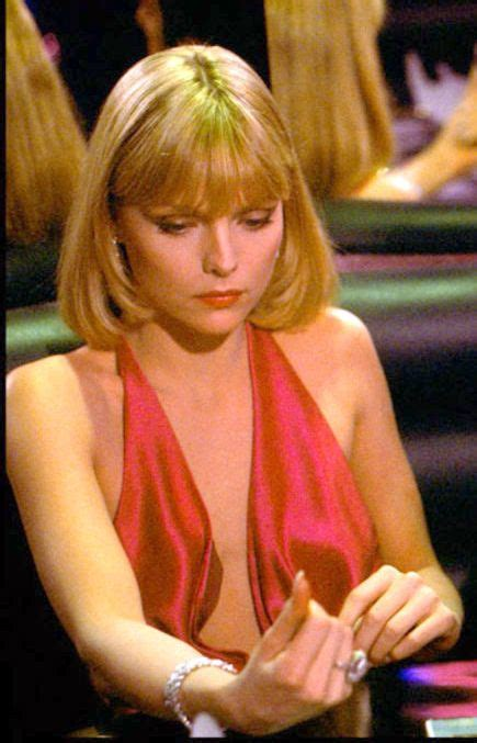 Michelle Pfeiffer as Elvira in the movie Scarface