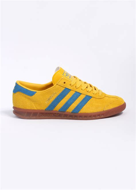 adidas Originals Hamburg Trainers - Yellow