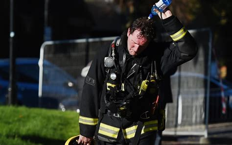 'It was just like the images of 9/11': Firefighter tells
