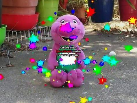 Barney Adventure Bus Trailer In Slow Motion - AgaClip