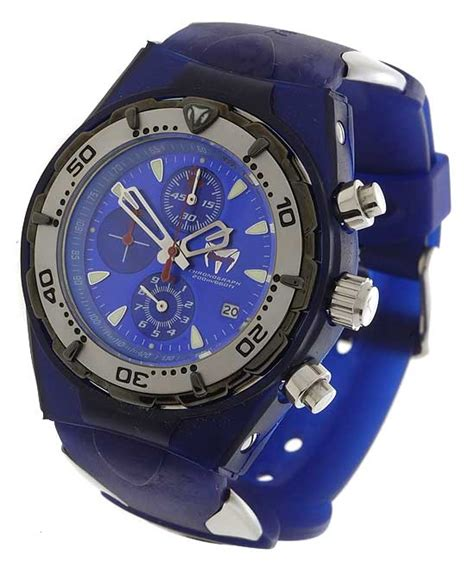 Technomarine Squale Blue Dial Watch - Overstock™ Shopping