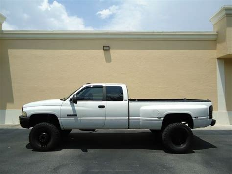 Find used 1996 Dodge Ram 3500 Cummins 4x4 Dually 12v Turbo