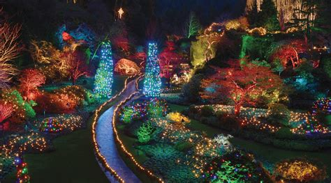 Butchart Gardens Christmas Lights Package | Clipper Vacations