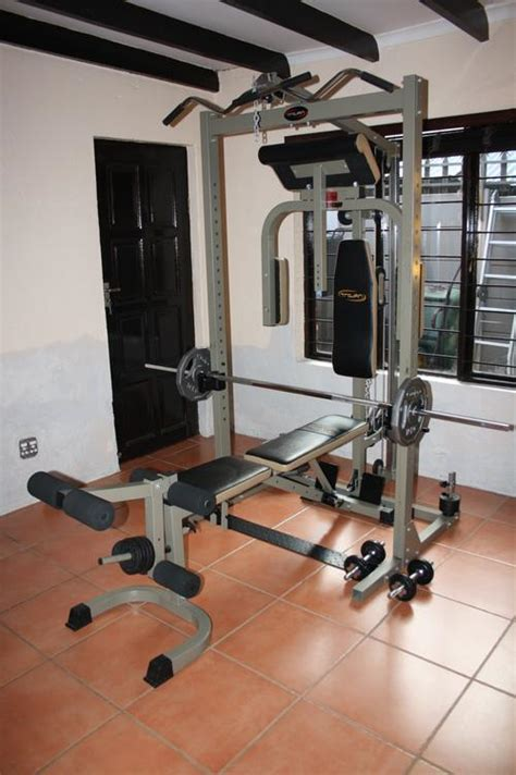 Home Gyms - Trojan Power Cage - Home Gym was sold for R2