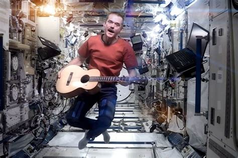 Chris Hadfield's new album was recorded in space | WIRED UK