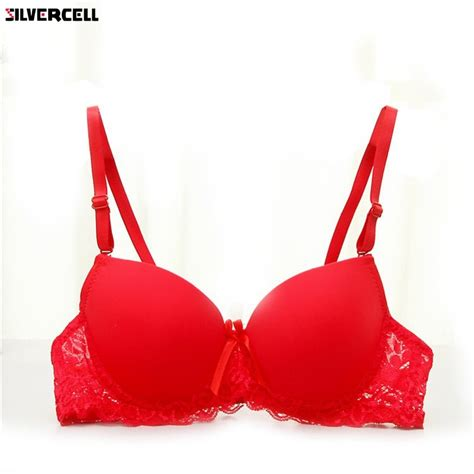 Women Bra Lace Underwire Lingerie Underwear Push Up Bra