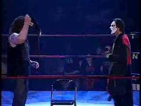 TNA: Cage Speaks And Sting Attempts To Reason With Abyss