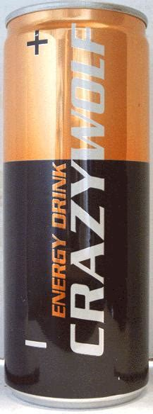 CRAZYWOLF-Energy drink-250mL-Poland