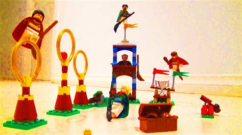 LEGO Harry Potter Quidditch Match Toy Review 4737 - YouTube