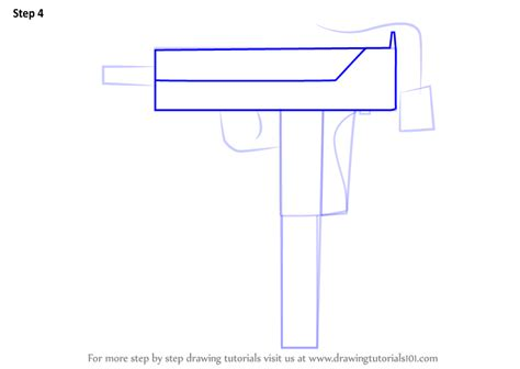 Learn How to Draw MAC-10 from Counter Strike (Counter