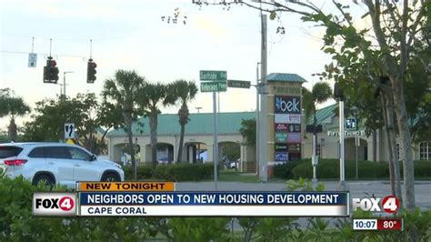 Neighbors on board for new housing in Cape Coral - Fox 4