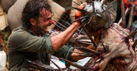Walking Dead Video Has Rick Fighting the Most Insane