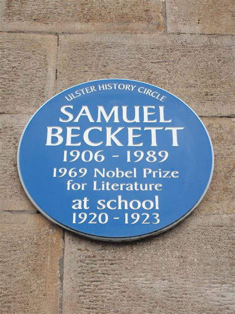 Staging Beckett   The impact of productions of Samuel
