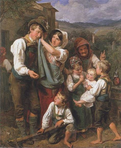 The homecomming, 1833 - Ferdinand Georg Waldmüller