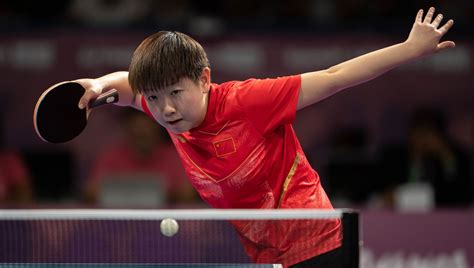 Clean sweep for China's new wave of table tennis talent