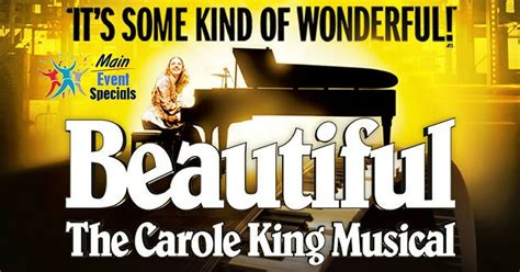 Beautiful on Broadway - The Carole King Musical Tickets