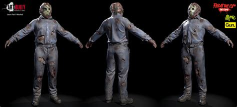 Friday the 13th: The Game - Jason Character Art drop