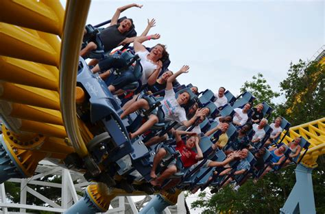 Skyrush, a Winged Roller Coaster at Hersheypark - The New