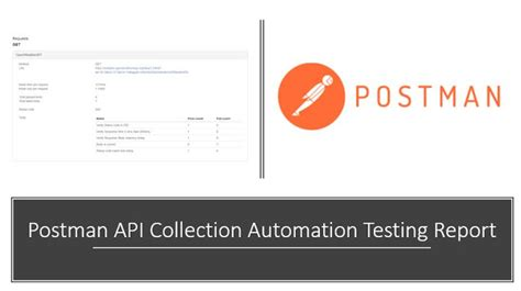 Postman API Collection Automation Testing Report - QA